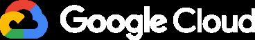 google cloud horizontal white