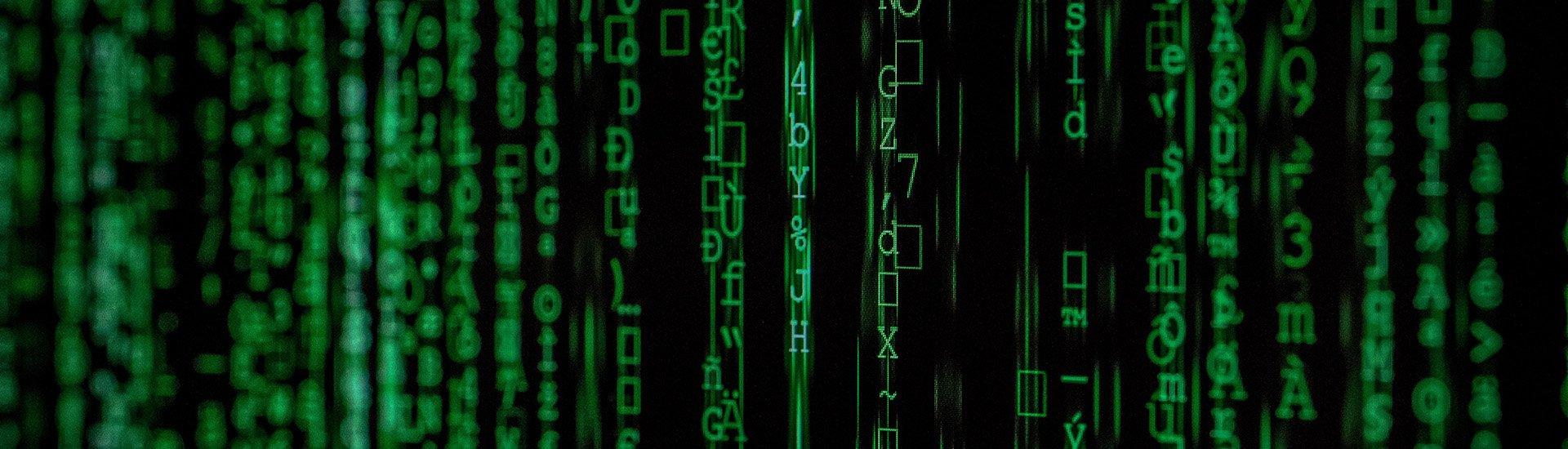 data-code-binary-matrix-style