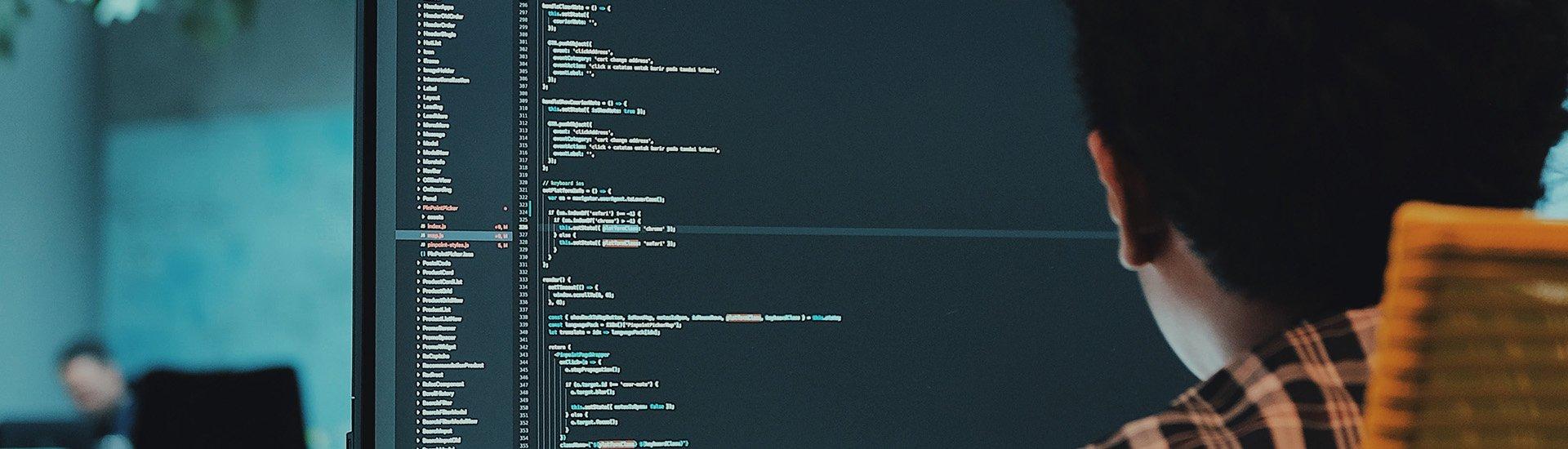 data-coding-on-screen-code